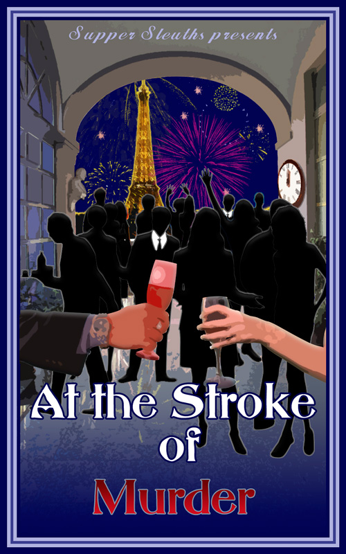 At The Stroke Of Murder – Mystery Party Game